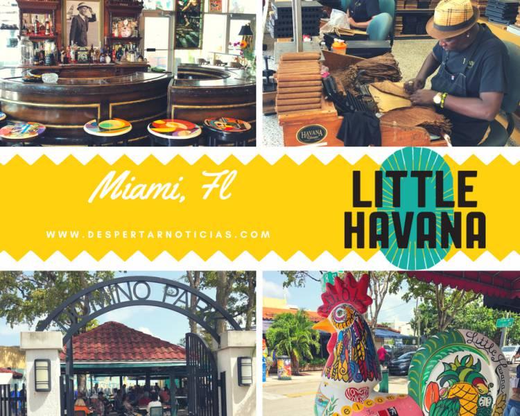 """""""Little Havana"""":  La Pequeña Habana en Miami, Florida"""