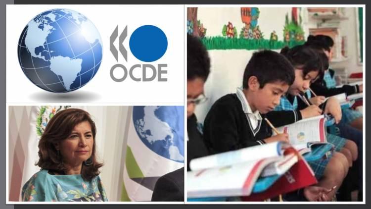 OCDE externa respaldo a México en redefinición de sistema educativo