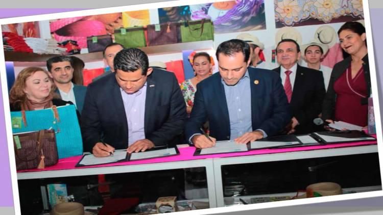 Guanajuato y Yucatán firman convenio de colaboración turística