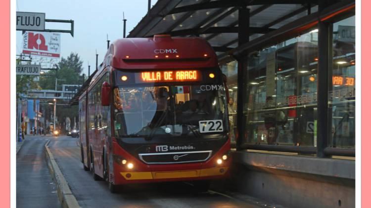 Cerrarán estaciones de Línea 6 de Metrobús por festejos en Pueblo de San Juan de Aragón