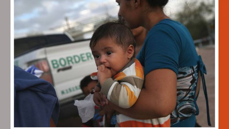 Pequeños migrantes solitarios buscan llegar a destinos seguros