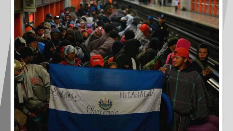 Partieron más de dos mil migrantes de la Ciudad de México rumbo a EUA