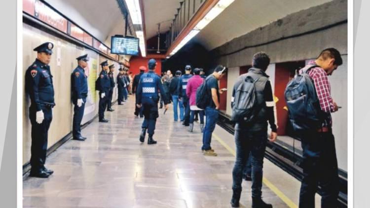 Refuerzan vigilancia en el Metro tras denuncias de intento de secuestro