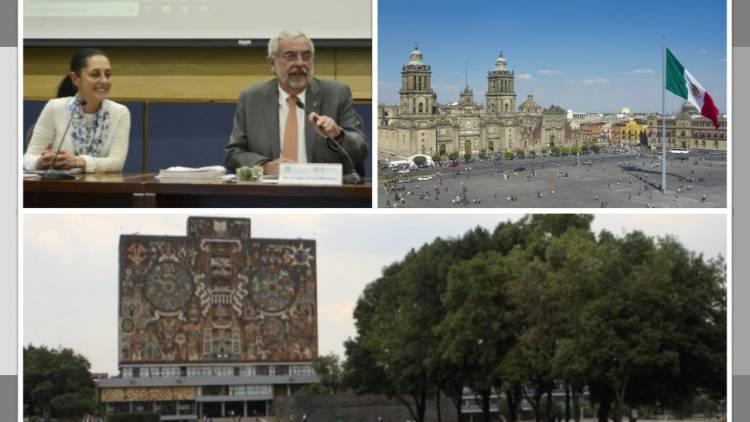 UNAM y Ciudad de México suman esfuerzos en pro de planeación de la capital