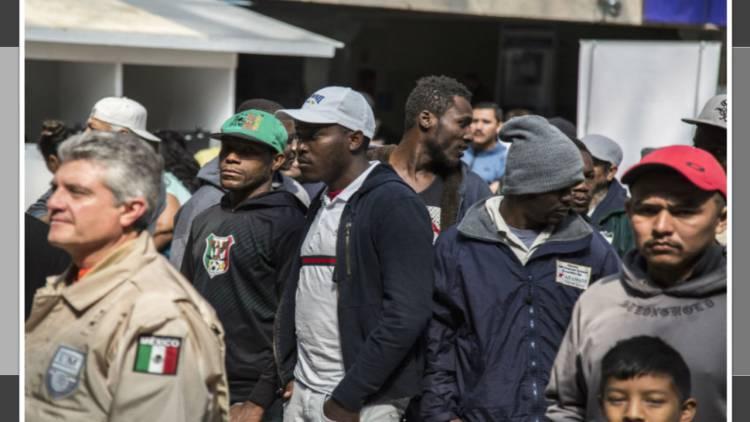EU ya retornó a México a 143 migrantes centroamericanos