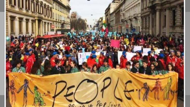 Más de 200 mil marchan contra el racismo en Italia