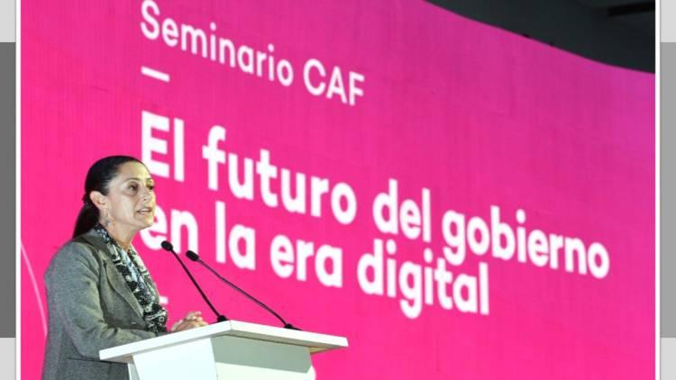 Sheinbaum destaca digitalización en la capital
