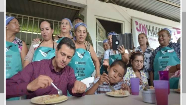 AMLO cierra comedores comunitarios impulsados por EPN