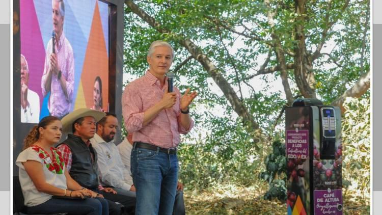 Estado de México impulsará producción de café