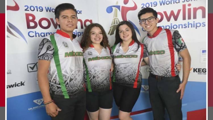 México gana dos medallas de bronce en boliche del Mundial Juvenil Sub-18