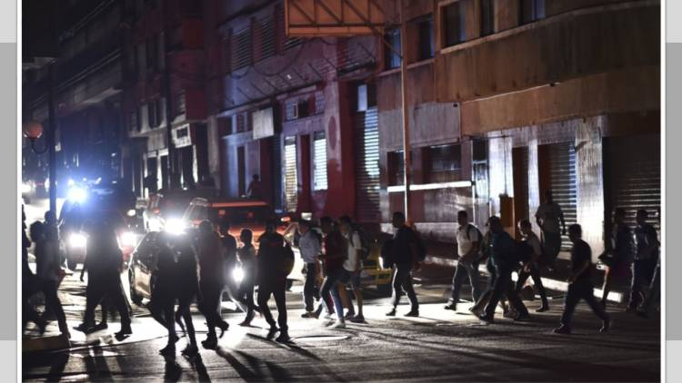 Venezuela sufre nuevo apagón eléctrico