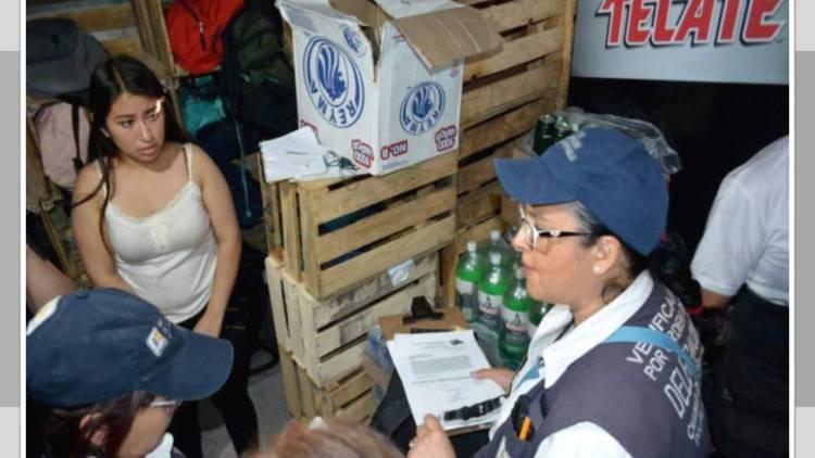 Cierran 80 chelerías y dos antros ilegales en Iztapalapa
