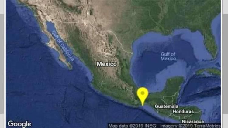 Ocurren dos sismos de magnitud 4.3 en Chiapas