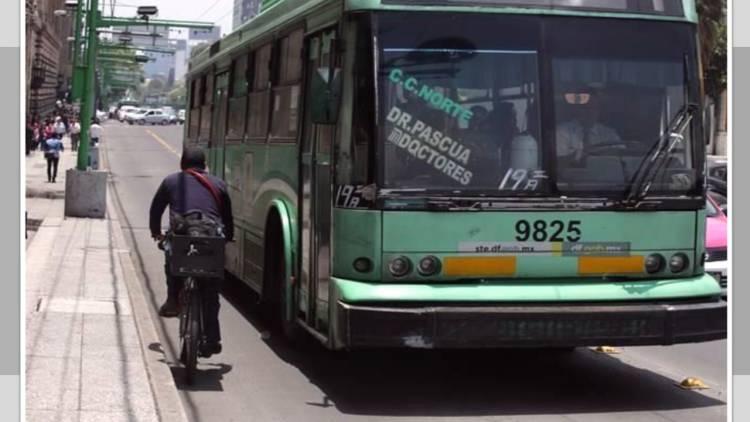 Piden carril para bicicletas en vía del Trolebús