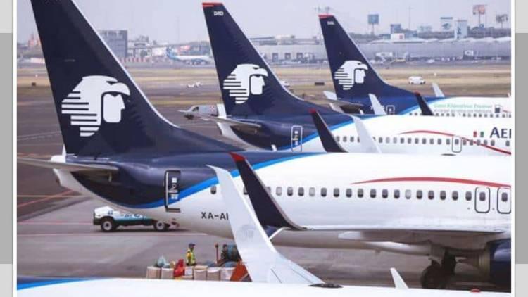 Sobrecargos de Aeroméxico emplazan a huelga