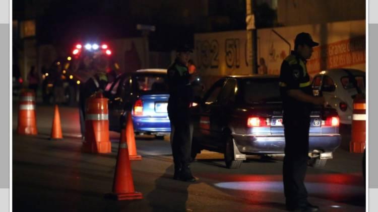 """Al """"torito"""", 137 automovilistas durante Semana Santa en la capital"""