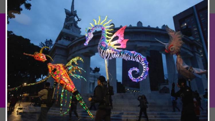 Alebrijes iluminados desfilarán en la Alameda Central
