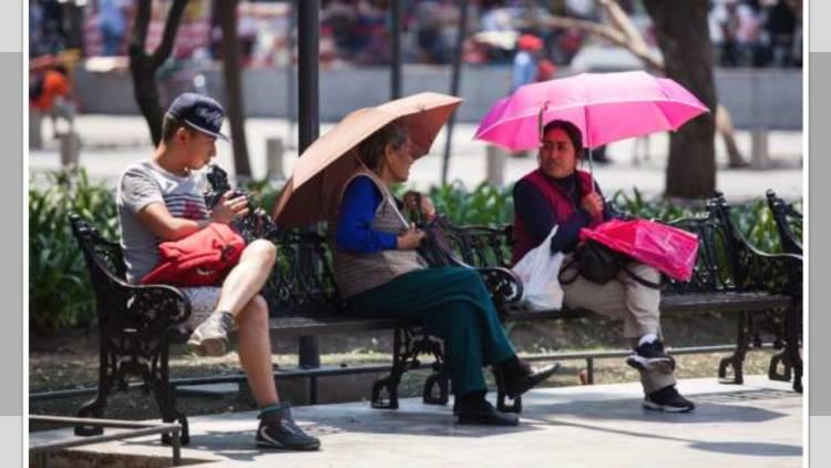 Prevén temperaturas de 29 a 31 grados Celsius en la Ciudad de México