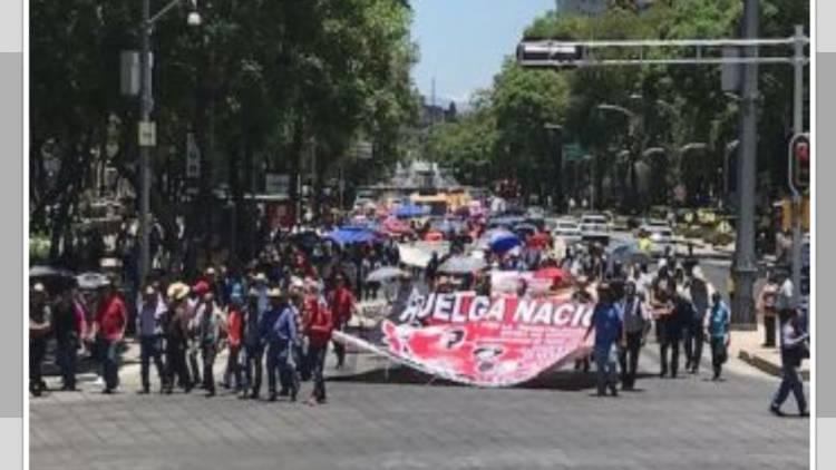CNTE niega que haya acuerdo para derogar reforma educativa