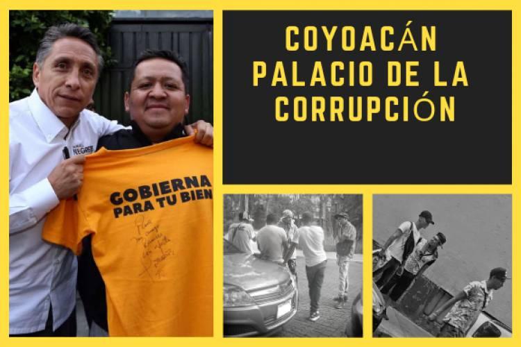 Coyoacán, palacio de la corrupción y la ingobernabilidad.