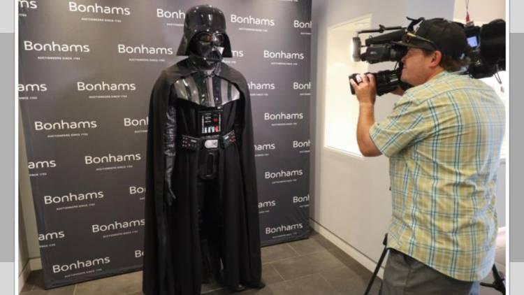 ¡Venderán el traje original de Darth Vader!