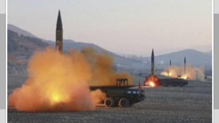 """Corea del Norte lanza """"varios"""" misiles de corto alcance"""