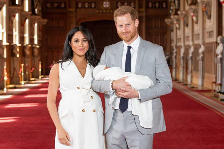 Bebé real se llamará Archie Harrison