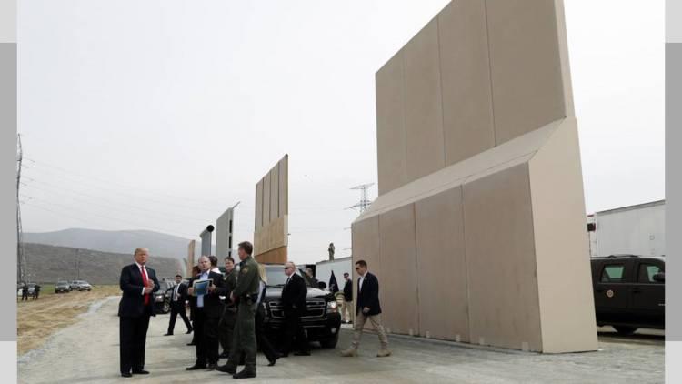 Pentágono destinará 1,500 mdd más para el muro de Trump
