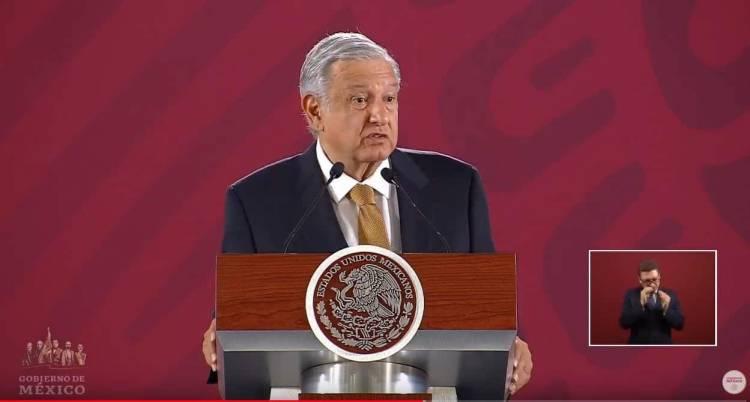 Nadie que dañe el ambiente tendrá protección, asegura López Obrador