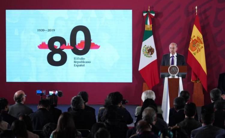 AMLO conmemora 80 años del Exilio Español a México