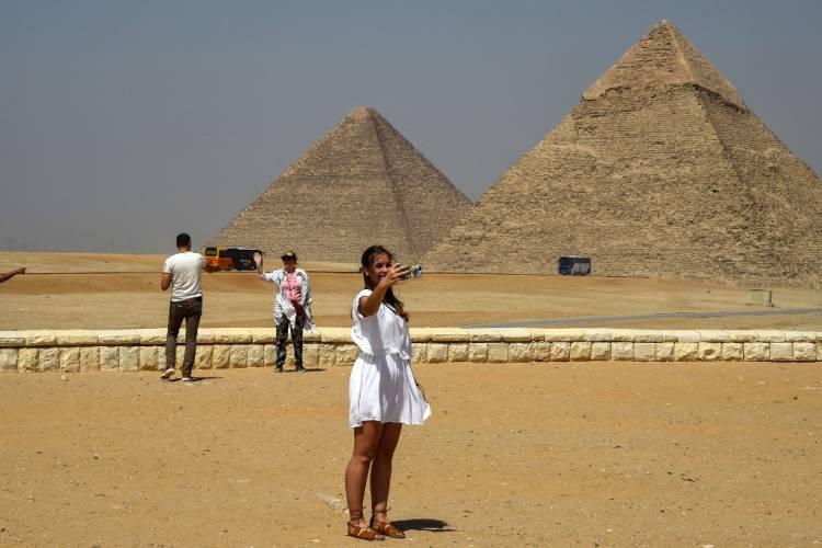 Egipto abre al público dos pirámides por 1ra vez desde 1965