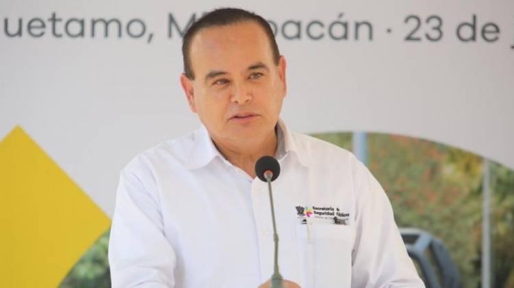Muere titular de SSP de Michoacán tras caída de helicóptero