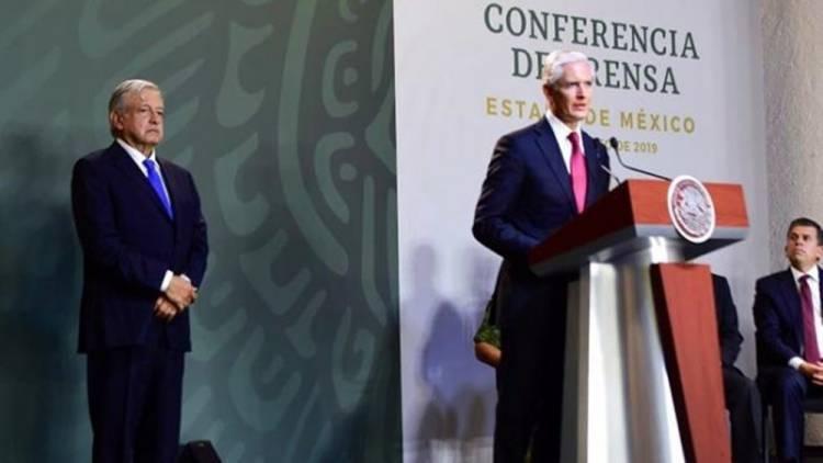 Alfredo del Mazo presenta avances en materia de seguridad en el Estado de México