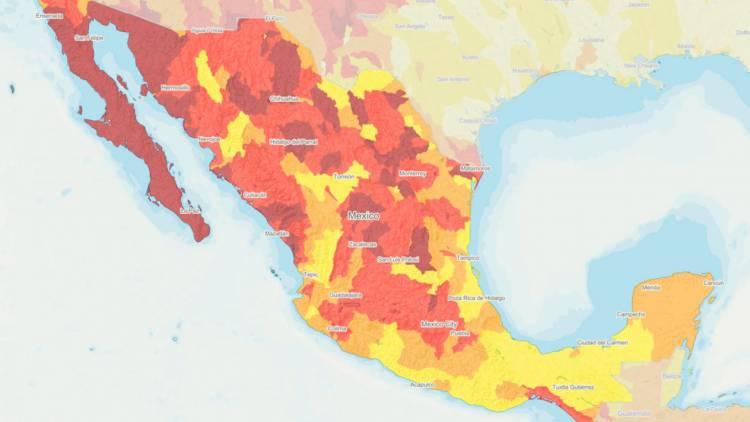 """Estados del país que se acercan al """"Día Cero"""" del agua"""