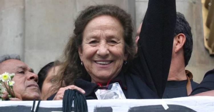 Senado otorgará medalla Belisario Domínguez a Rosario Ibarra de Piedra