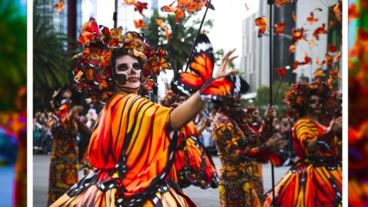 Festejos de Día de Muertos en la CDMX