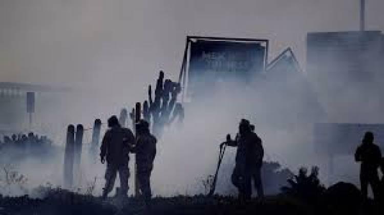 Controlan incendio en Tecate, pero resta el de Ensenada