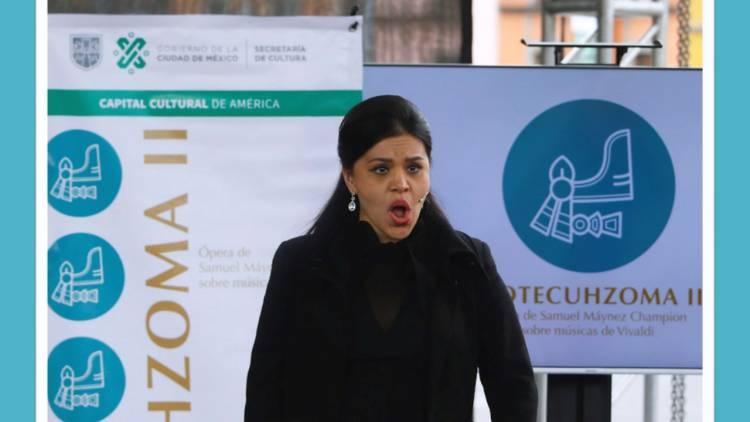 El Zócalo Capitalino recibirá la Ópera Monumental MOTECUHZOMA II