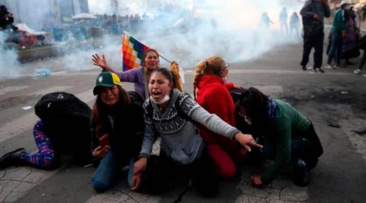 La crisis en Bolivia se agrava con la muerte de 9 manifestantes