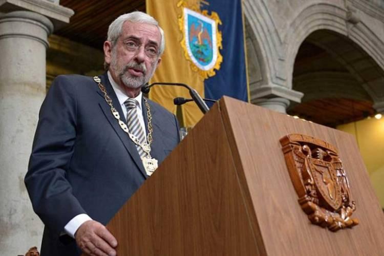 Por segunda ocasión, Enrique Graue rinde protesta como rector de la UNAM