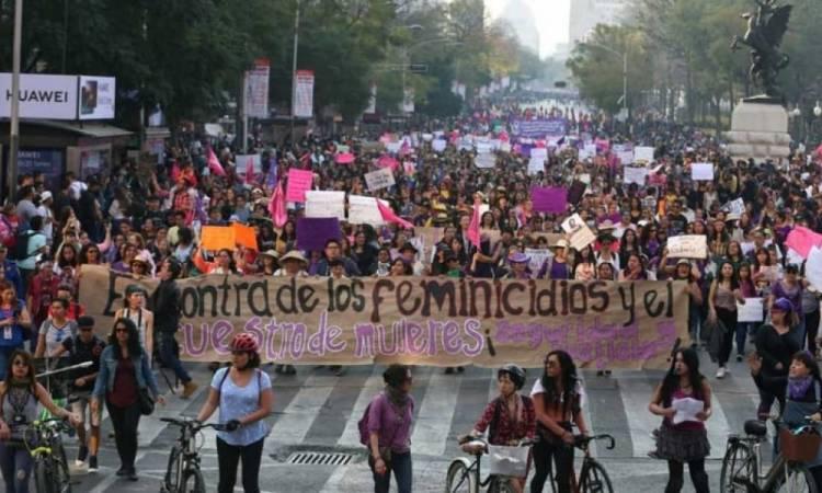 Marcha feminista; estas son alternativas viales