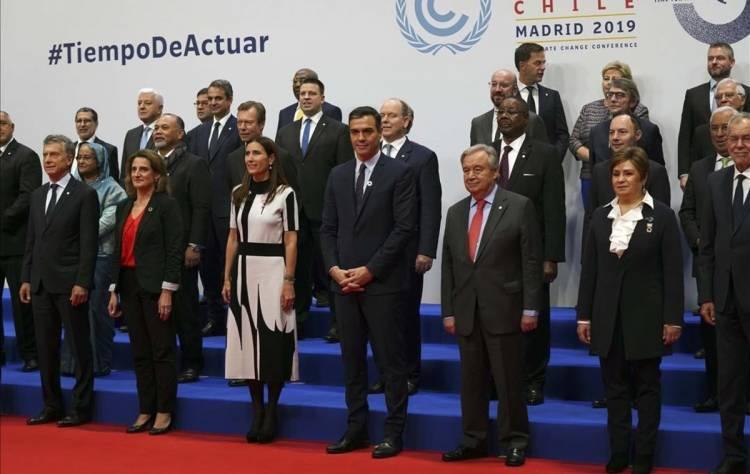 Inicia en Madrid la Cumbre del Clima