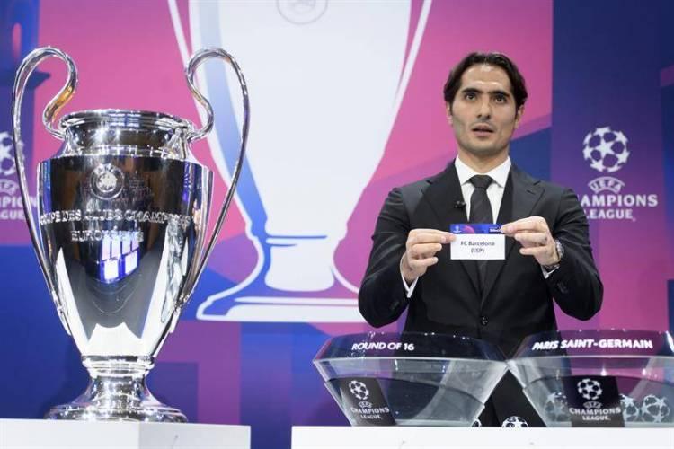 Así se jugarán los partidos de octavos de final de la Champions