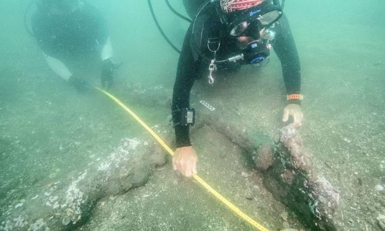 Encuentran dos anclas que serían del barco de Hernán Cortés