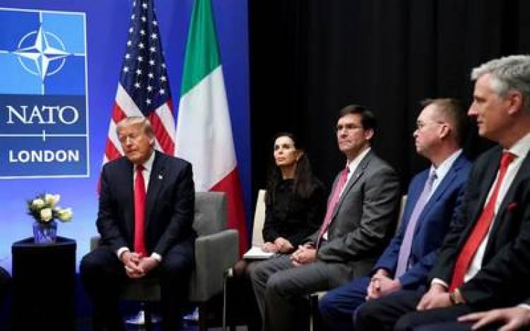 La OTAN anuncia su respaldo a EU en conflicto con Irán