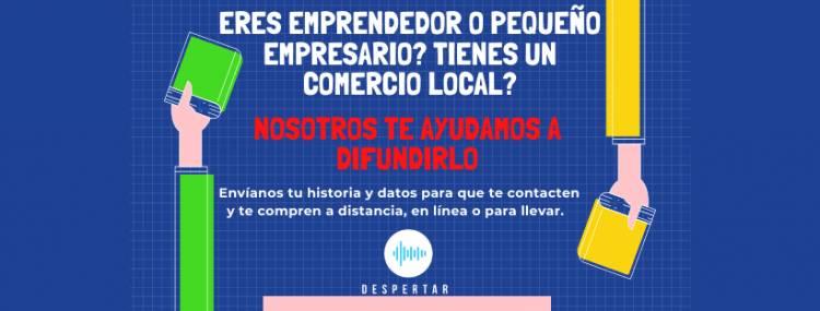 Apoyemos a los pequeños empresarios y negocios locales.