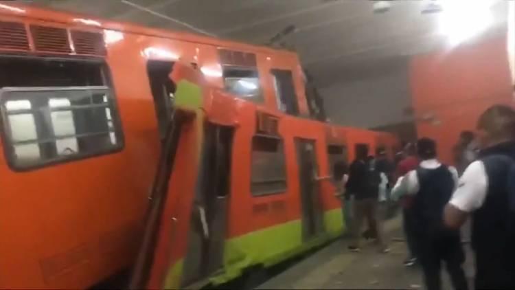 Siguen activos Presuntos responsables de choque en Metro Tacubaya