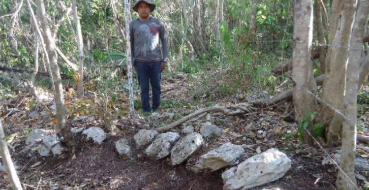 INAH descubrió aldea maya posclásica en Mahahual, Quintana Roo