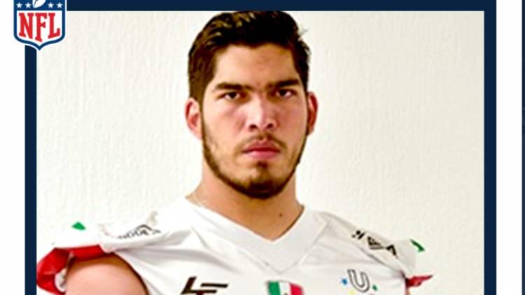 Mexicano llega a la NFL para la siguiente campaña