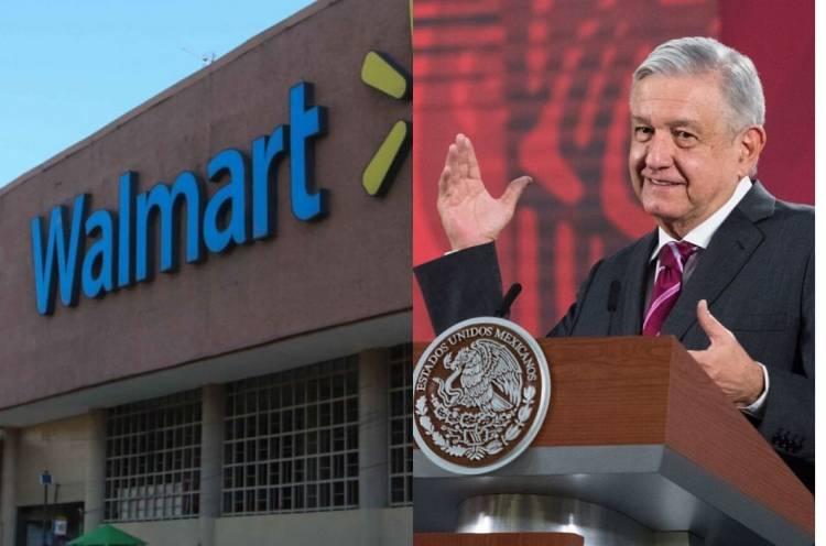 Celebra AMLO que Walmart haya saldado deuda con SAT